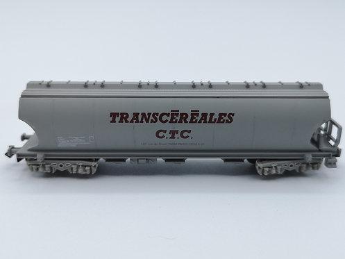 """Wagon de marchandises """"TRANSCEREALE CTC"""" - Artrain 163 (C163)  échelle N"""