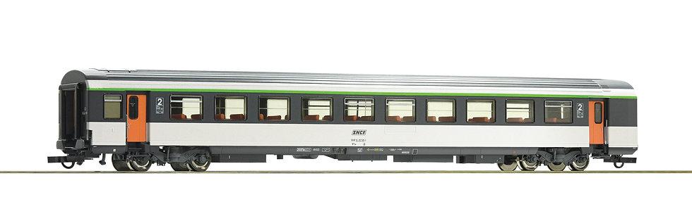 Voiture Voyageurs 2ème Classe B11tu Roco 74532 HO SNCF