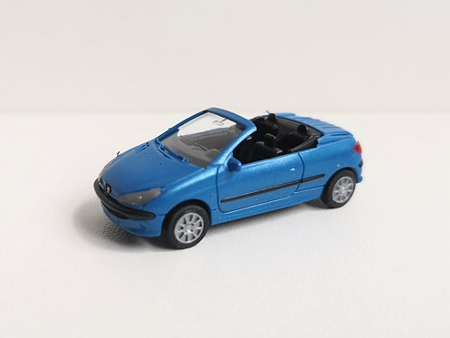 SAI collections réf 2197 Peugeot 206 cabriolet HO