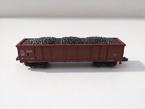 Wagon tombereau, chargement de charbon Roco 02368C échelle N