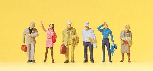 Preiser 14088 Figurines, voyageurs HO