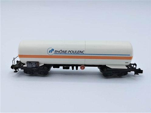 """Wagon de marchandises """"Rhône Poulenc"""" - Arnold 4718 échelle N"""