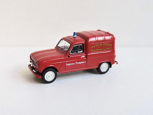 SAI collections réf 2436 Renault 4 sapeurs pompiers HO