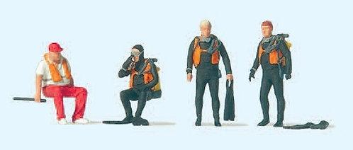 Preiser 10693 Figurines, plongeurs HO