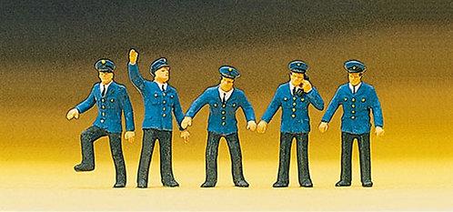Preiser 10012 Figurines, personnels de gare HO