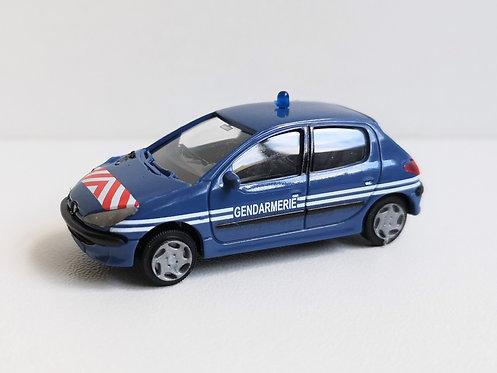 SAI collections réf 2173 Peugeot 206 berline HO