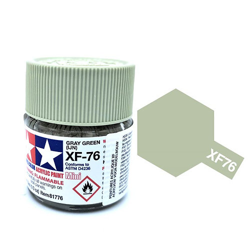 Tamiya XF-76 - Gris vert japonais mat (10ml)