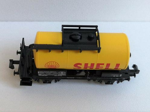 Wagon citerne shell MINITRIX réf 15655-22
