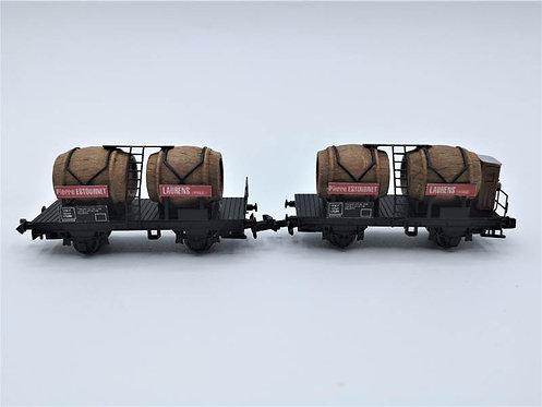 Wagon bi foudre SNCF - Acar 3510 échelle N