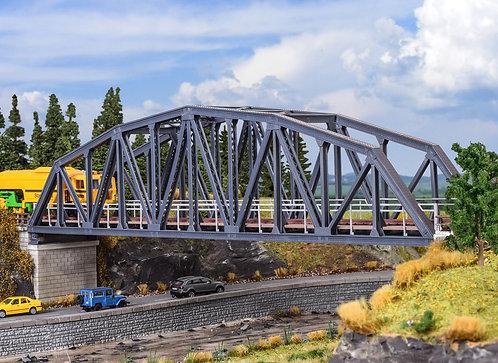 Pont voie unique arc en acier HO - KIBRI 39700