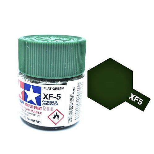 Tamiya XF-5 - Vert mat (10ml)