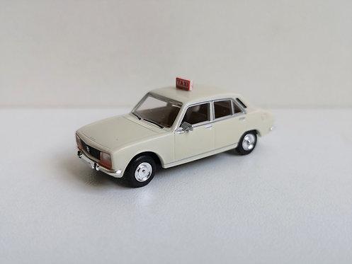 SAI collections réf 2095.1 Peugeot 504, taxi blanc HO