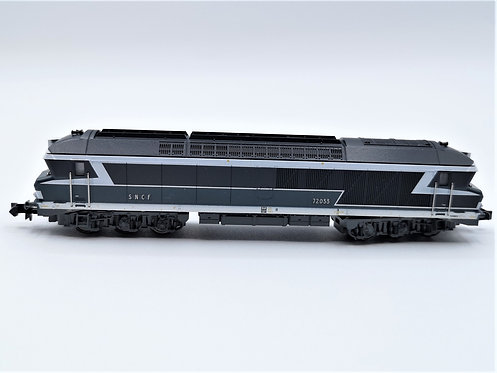 Locomotive diesel CC 72033 SNCF - Minitrix 12748 analogique