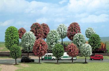 Busch 6484 -  arbres printaniers HO