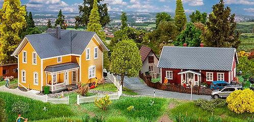 Faller 130604 Maisons suédoises HO