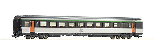 Voiture voyageurs Corail B11tu 2ème Classe Roco 74533 HO SNCF