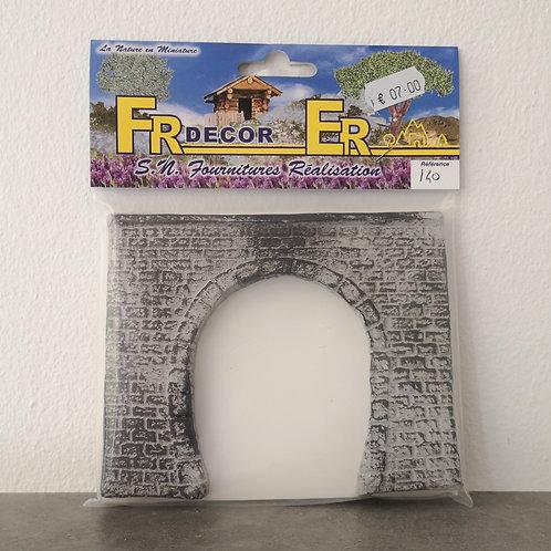 FR Décor réf 140 Entrée de tunnel 1 voie HO
