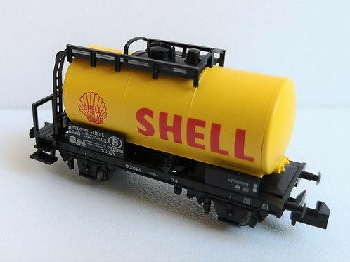 Wagon citerne shell MINITRIX réf 15655-21