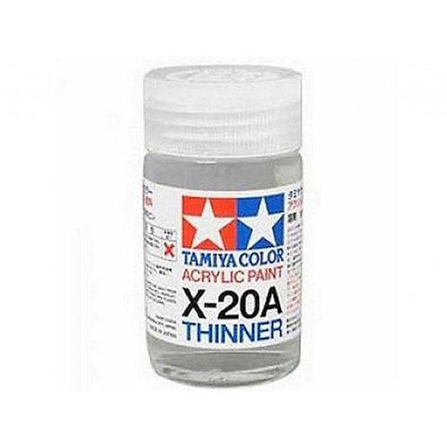 Tamiya X-20A - diluant peinture acrylique (40ml)