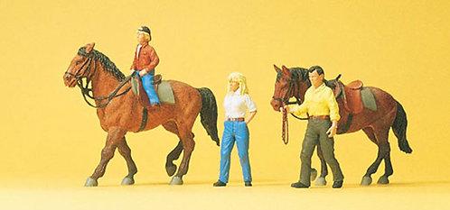 Preiser 10500 Figurines, cavaliers HO