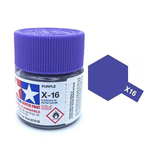 Tamiya X-16 - Violet brillant (10ml)