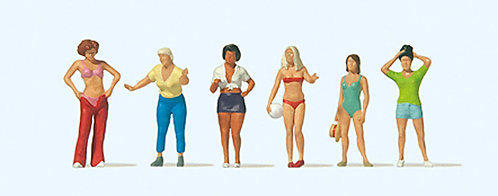 Preiser 10704 Figurines, au camping HO
