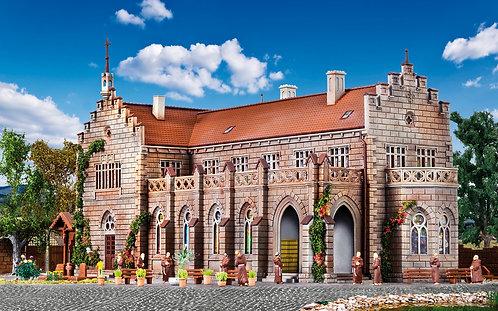 Vollmer 43860 Complexe monastique avec cimetière et accessoires HO