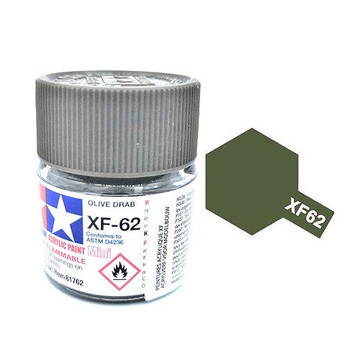Tamiya XF-62 - Vert olive clair mat (10ml)