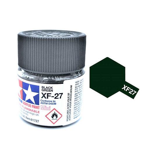 Tamiya XF-27 - Vert Noir mat (10ml)