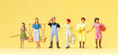 Preiser 14083 Figurines, fermiers HO
