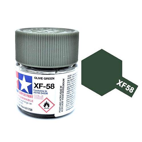 Tamiya XF-58 - Vert olive foncé mat  (10ml)