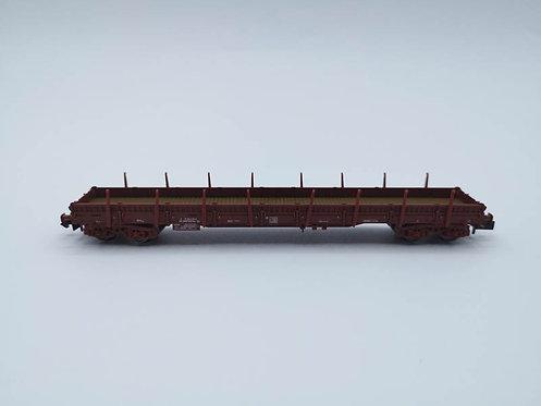 Wagon plat à ridelles et ranchers - Fleischmann 828801 échelle N
