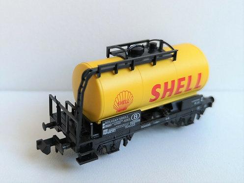 Wagon citerne shell MINITRIX réf 15655-20