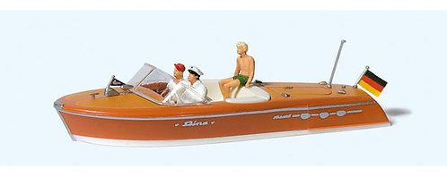 Preiser 10688 - Figurines, bateau Riva Ariston + équipage HO
