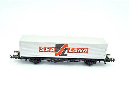 Wagon porte container SEALAND - Rowa HO