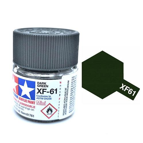 Tamiya XF-61 - Vert foncé mat (10ml)