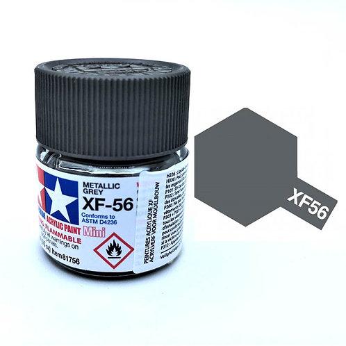 Tamiya XF-56 - Gris métal mat (10ml)