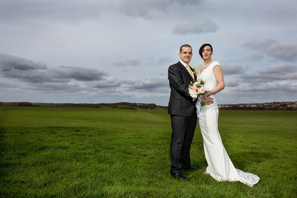 Bride and Groom Wedding  Photography Portraits West Yorkshire
