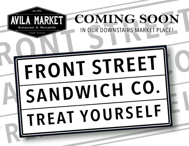 Deli sandwiches in Avila at Avila Market in Avila Beach