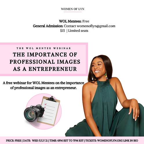 The Importance of Professional Images as an Entrepreneur With Ashley Jean