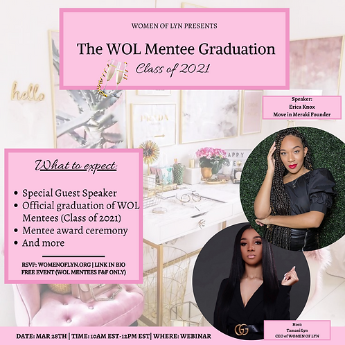 The WOL Mentee Graduation - Class of 2021