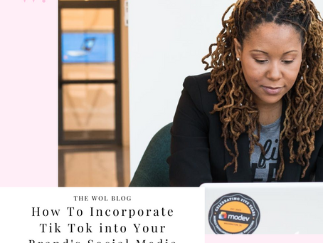 How To Incorporate Tik Tok Into Your Brand's Social Media By Alexis Davis