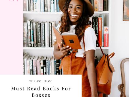 Must Read Books For Bosses By Alyssa Caggiano