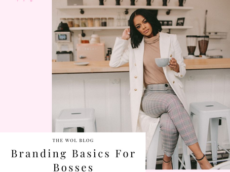 Branding Basics For Bosses By Alyssa Caggiano