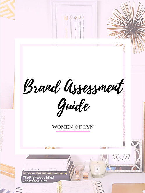 Free Downloadable: Brand Assessment Guide