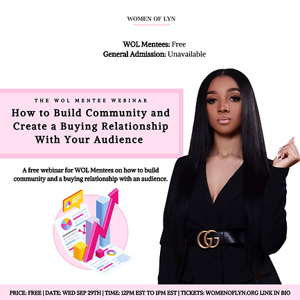 How To Build Community and Create a Buying Relationship with Tamani Lyn