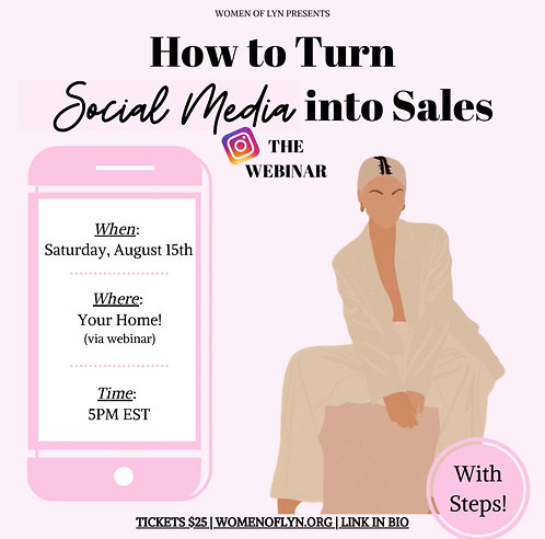 How To Turn Social Media Into Sales: The Live Webinar