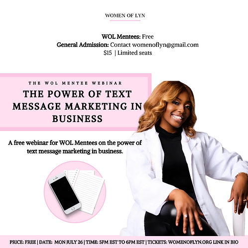 The Power of Text Message Marketing With Toya Messam