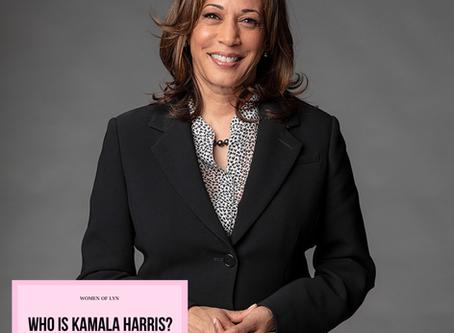 Who is Kamala Harris? By Raven Gillus