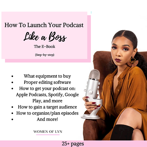 How To Your Podcast Like A Boss: The E-Book